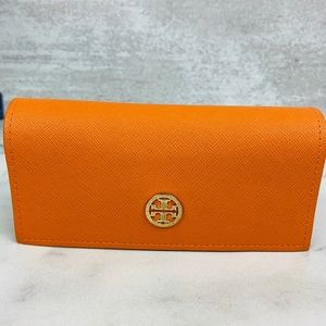 Tory Burch Leather Sunglasses Case